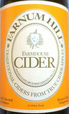Farnum Hill Farmhouse Label