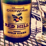 Red Hill. Virginia Apple Cider