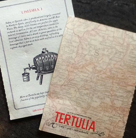 Tertulia Cards