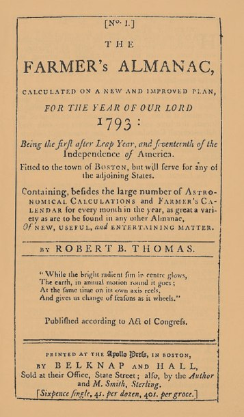 1793 of Almanck cover